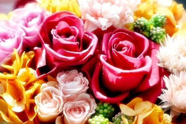 母の日に嬉しいプレゼント~お花~