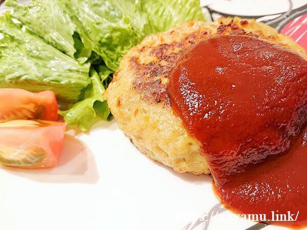 やわらか豆腐野菜ハンバーグ
