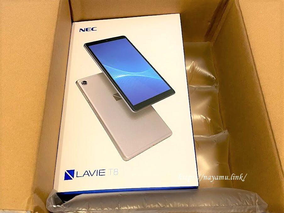 NECのLAVIE T8 /PC-TAB08H02【NEC Direct限定モデル】Android(TM)搭載8型ワイド液晶タブレット